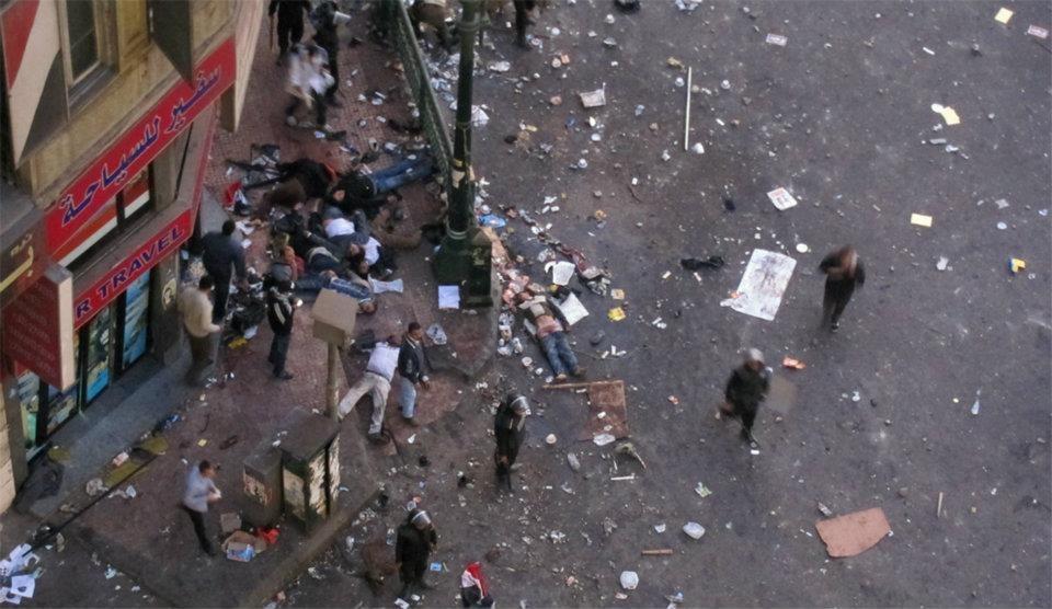 """""""Sie haben sich benommen wie Tiere"""" - Ägyptische Polizei misshandelt Frauen"""