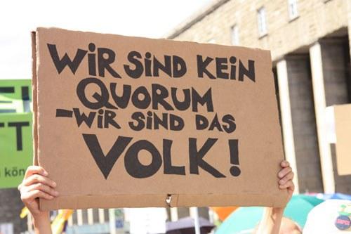 """Nach der Volksabstimmung zu """"Stuttgart 21"""": Keine Unterordnung unter ein manipuliertes Ergebnis - kein Friede mit der Umweltzerstörung!"""