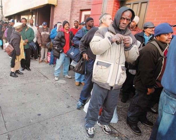Jeder dritte US-Bürger gilt als arm