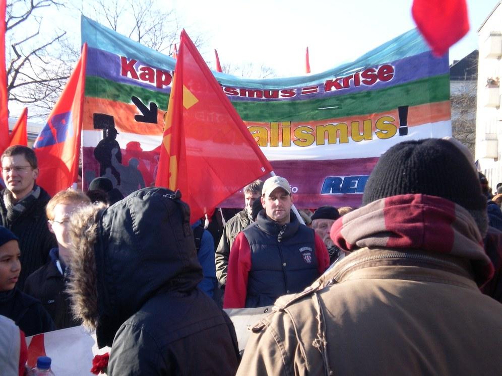 """Lenin-Liebknecht-Luxemburg Aktivitäten in Berlin: """"Begeisterndes, revolutionäres internationalistisches Wochenende"""""""