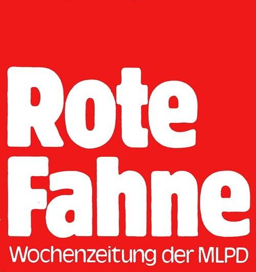 """""""Rote Fahne"""" zum Kampf der Stahlarbeiter / Sonderdruck des Interviews mit Stefan Engel"""