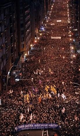 Größte Demonstration für die Rechte politischer Gefangener im Baskenland