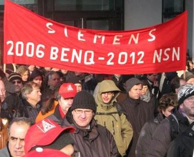 """Protest gegen NSN-Schließung in München: """"Das war nur der Auftakt"""""""