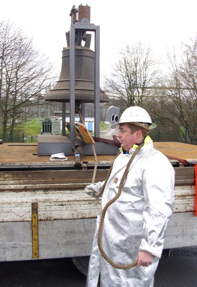 Kämpferische Grüße von Siemens Berlin an die Stahlarbeiter im Ruhrgebiet