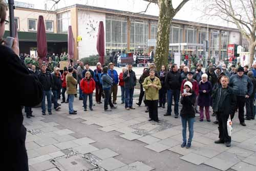 Antifaschistischer Protest in Göppingen