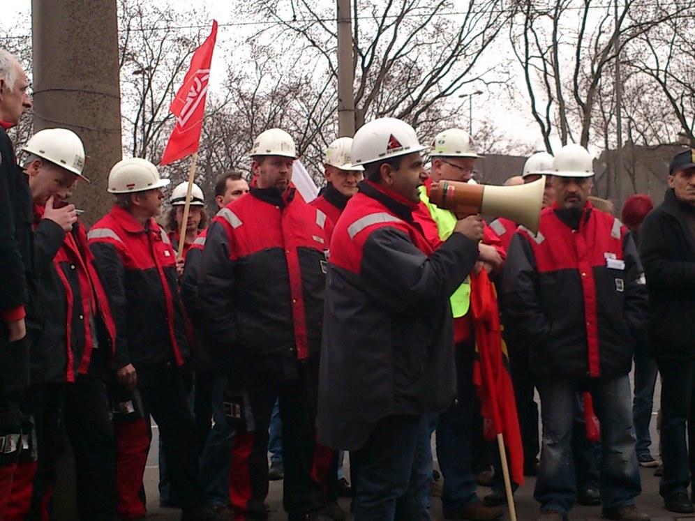 Jetzt doch Massenentlassung im Stahlbereich - Selbständige Proteste in Duisburg!