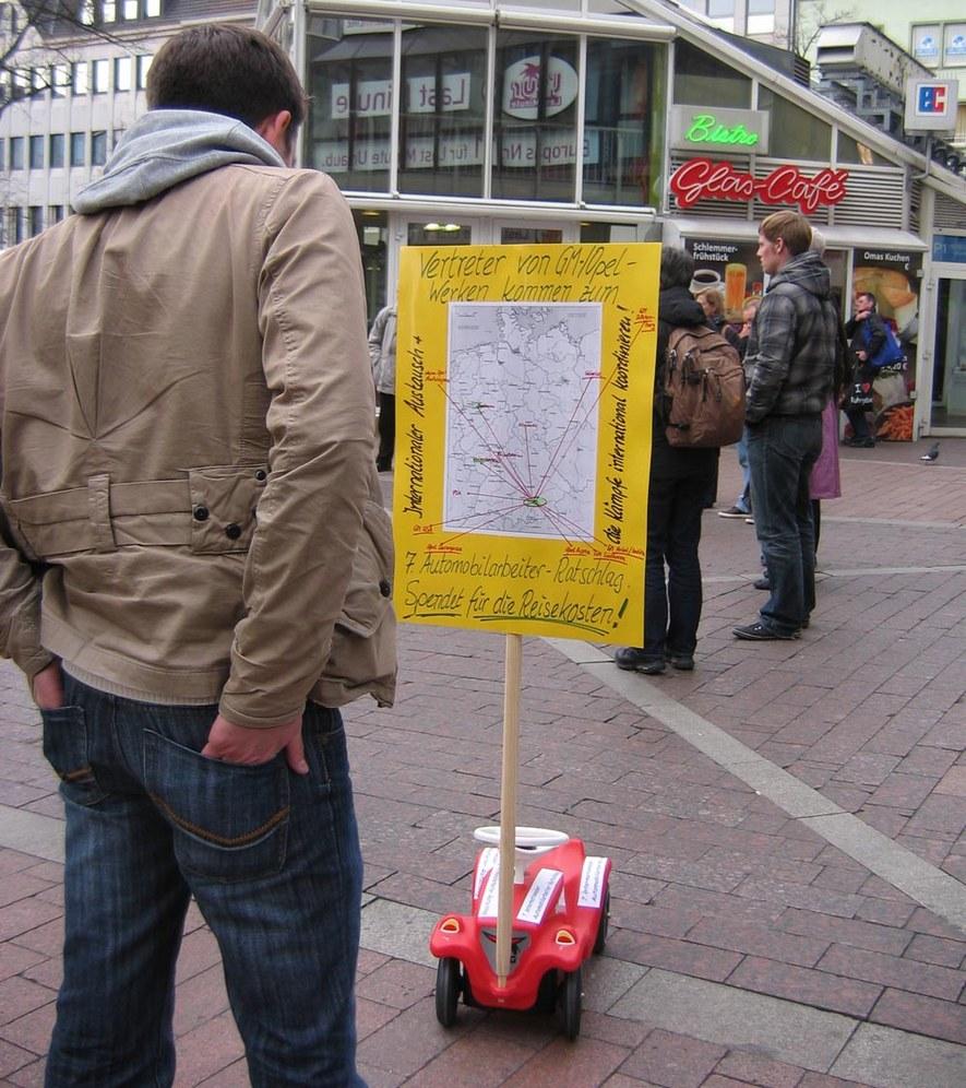Auf zum Internationalen Automobilarbeiter-Ratschlag vom 17. bis 20. Mai in München