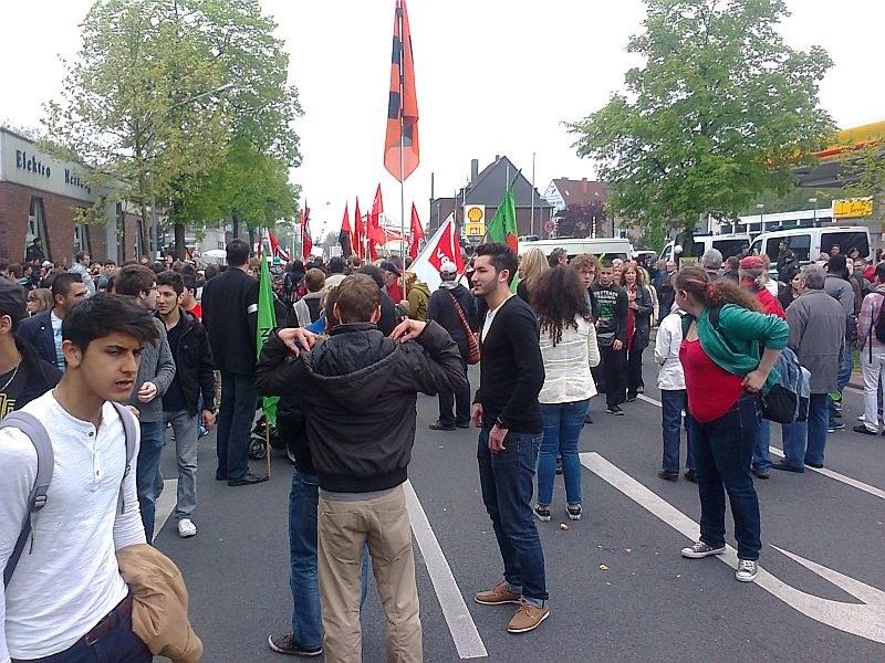 """Proteste gegen """"Pro NRW"""" auch in Oberhausen"""