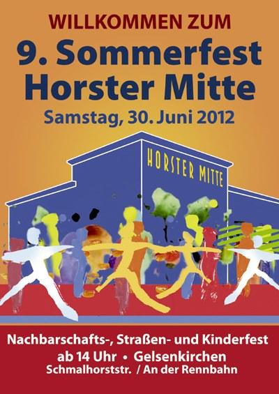 Auf zum Sommerfest der Horster Mitte!