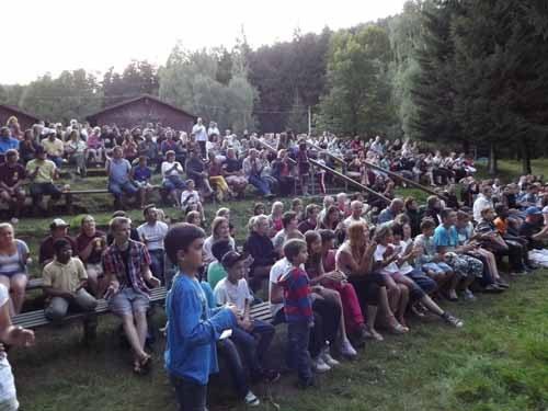 Zehntes Waldfest in Truckenthal - ein schönes Jubiläum