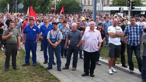 Arbeitsplatzvernichtung im Nürnberger Siemens-Trafo-Werk - Belegschaften müssen sich zusammenschließen