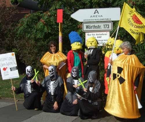 """""""Uranium Action Day"""" mit Aktionen in vielen Ländern der Welt"""