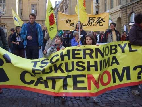 Internationale Anti-AKW-Demo in Metz