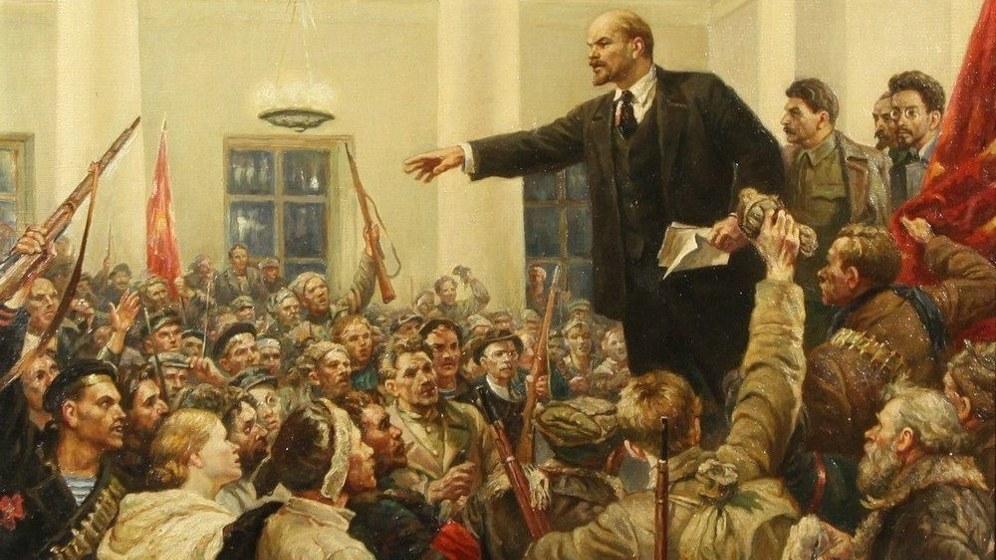 95. Jahrestag der Oktoberrevolution