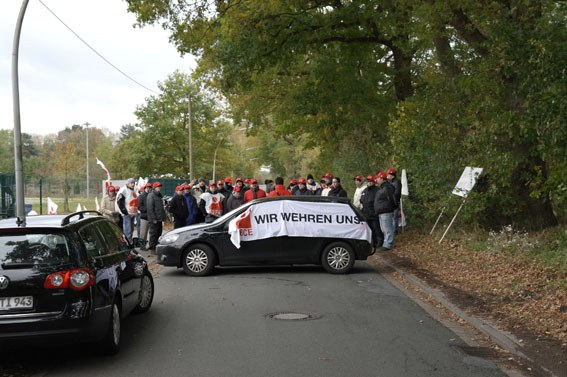 Unbefristeter Streik der Neupack-Belegschaft in Hamburg und Rothenburg (Wümme)