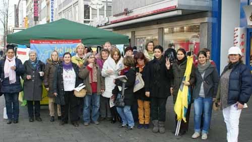 """Gelungene Kundgebung des """"Offenen Netzwerks Mannheimer Frauen"""""""