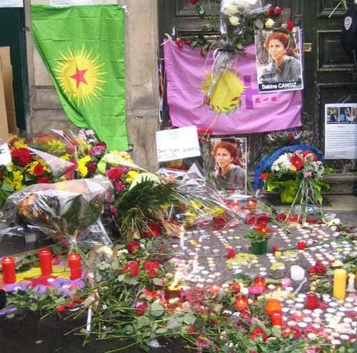 Trauerfeiern und Protestaktionen für Sakine Cansız, Fidan Doğan und Leyla Şöylemez an vielen Orten