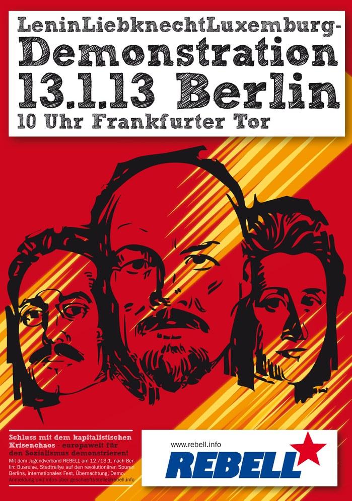 Morgen große Manifestation für den Sozialismus in Berlin