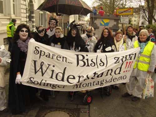Rosenmontag - bunter und politischer Höhepunkt der tollen Tage