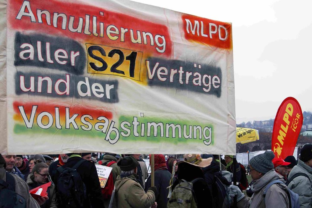 """Endstation 'Stuttgart 21' - bitte alle aussteigen!"""