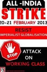 Internationaler Aufruf der NTUI zum zweitägigen Generalstreik in Indien