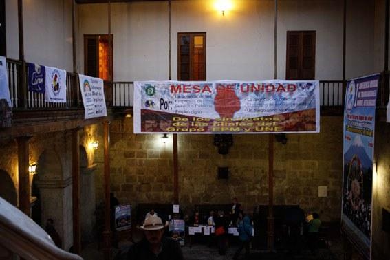 1. Internationale Bergarbeiterkonferenz feierlich eröffnet