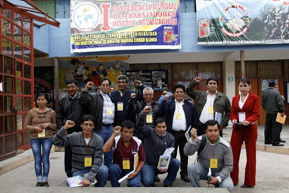 Internationale Bergarbeiterkonferenz - ein voller Erfolg