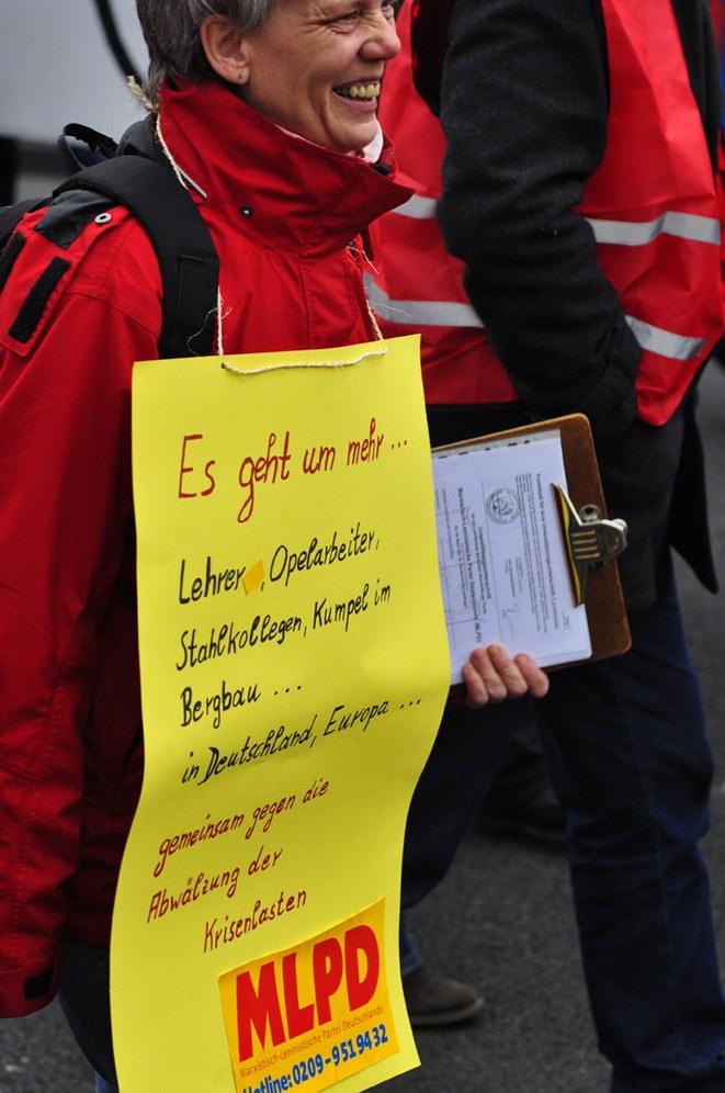 Lehrer-Demo in Dortmund
