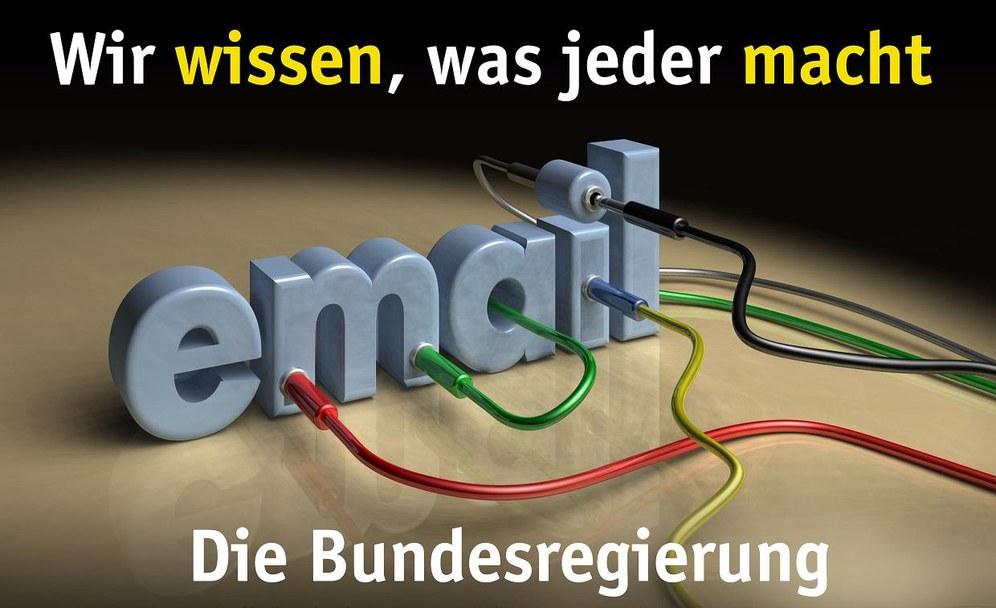 Bundestag beschloss Ausweitung der Bespitzelung