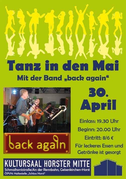"""""""Tanz in den Mai"""" im Kultursaal der """"Horster Mitte"""" in Gelsenkirchen"""