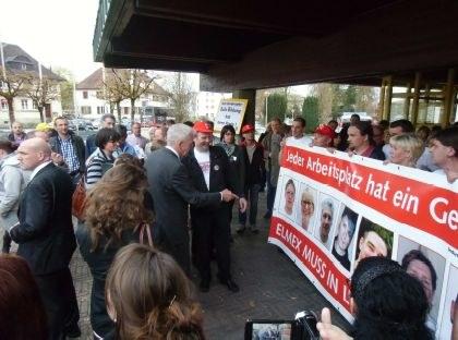 """Arbeitsplatzvernichtung bei GABA in Lörrach: """"Wir kämpfen weiter"""""""