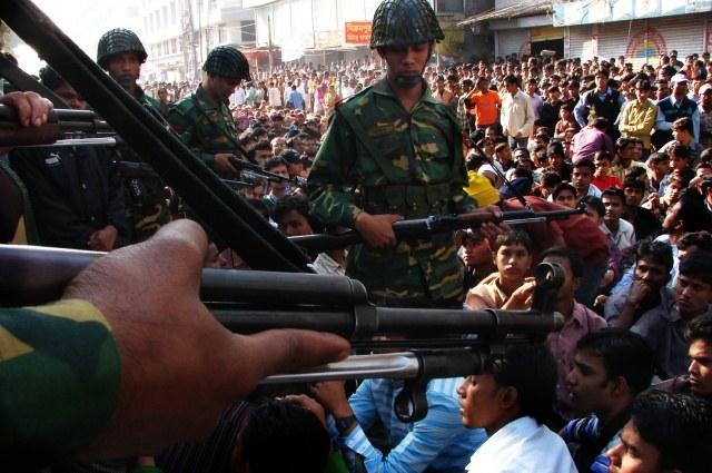 Bangladesch: Landesweite Demonstrationen und Generalstreik gegen mörderische Arbeitsbedingungen