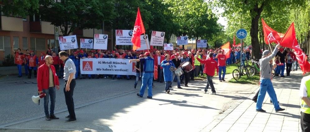 IGM-Jugendaktionstag in Böblingen