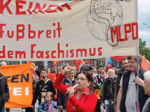 1.000 antifaschistische Schüler bei Demo in Solingen - antikommunistische Unterdrückungsversuche gescheitert