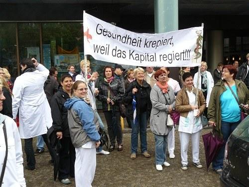 """Demonstration in Magdeburg gegen massive Kürzungen in Sachsen-Anhalt: """"Das machen wir nicht mit!"""""""
