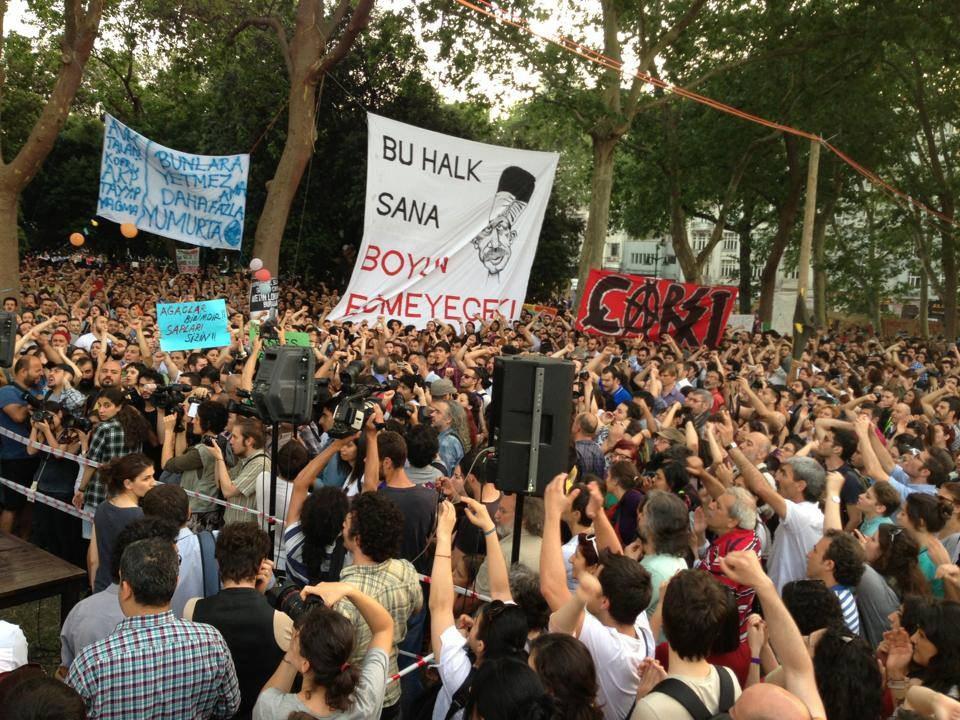 Massenproteste und Polizeigewalt in Istanbul