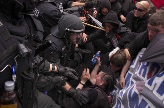 Protestdemonstration am Samstag gegen Polizeiterror in Frankfurt/Main