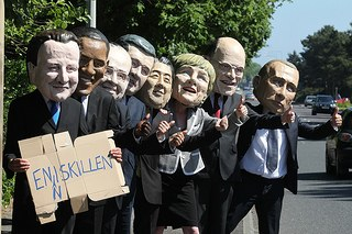 G8-Gipfel im Zeichen sich verschärfender Widersprüche