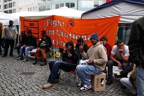 Bayerische Sozialministerin diffamiert protestierende Asylbewerber