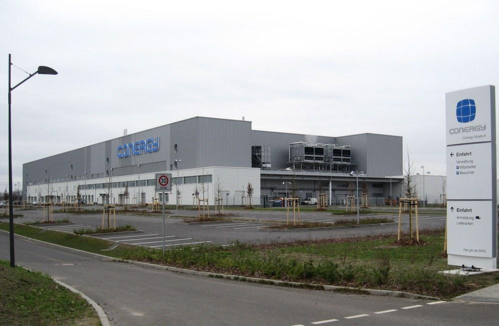 """""""Conergy"""" - das vorletzte große Solarunternehmen in Deutschland vor dem Aus"""