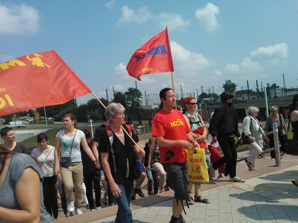 Faschistenaufmarsch in Halle/Saale verhindert