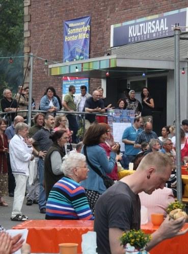 Horster Mitte Fest lockte bereits am Nachmittag über 1.000 Besucher