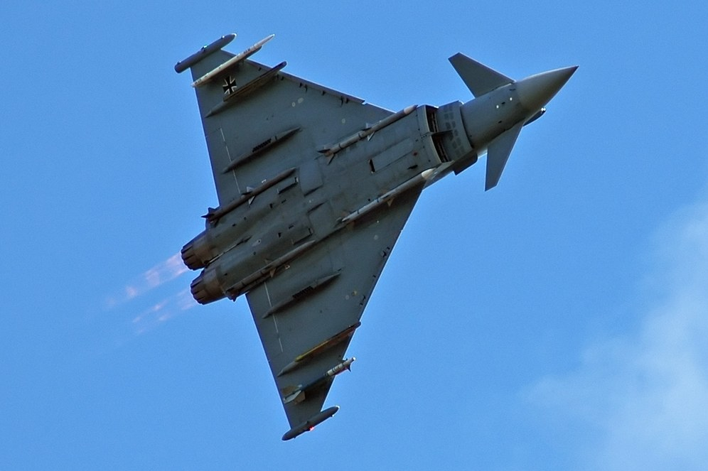 """Nach Debakel um """"Euro-Hawk""""-Drohne jetzt Desaster um """"Eurofighter"""""""