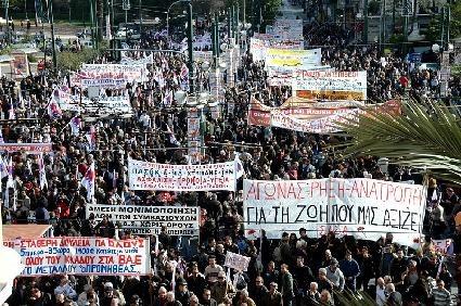 Griechenland: Parlament beschließt Entlassungswelle - Demonstranten setzen auf Widerstand