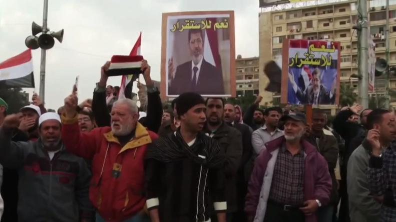 """""""Die Muslimbrüder hatten schwere Waffen im Protestcamp"""""""