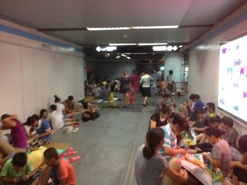 China: Hitzewelle im Süden - Überschwemmungen im Norden