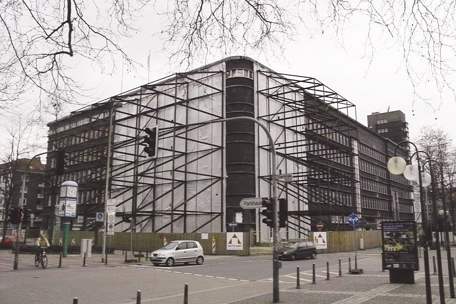 Licht in das Dunkel um das neue Hans-Sachs-Haus in Gelsenkirchen!