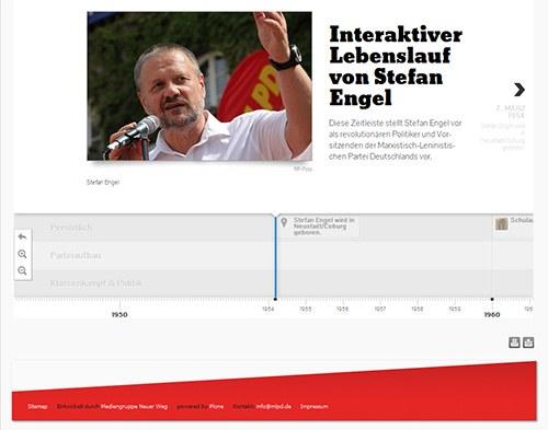 28.08.13 - Neuveröffentlichung der Website des Spitzenkandidaten Stefan Engel