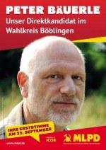 Für Peter Bäuerle (MLPD) abstimmen