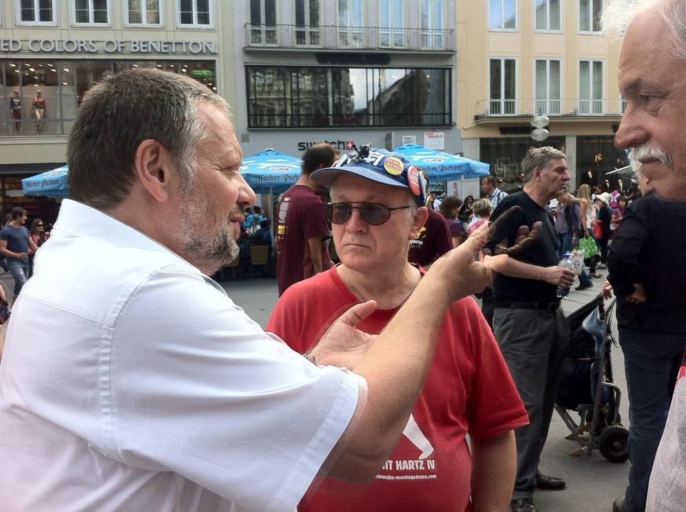Spitzenkandidat Stefan Engel in Stuttgart und Sindelfingen